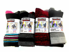 Ladies Merino Wool Hiking Trail Women's Socks Kirkland Signature 4 Pack