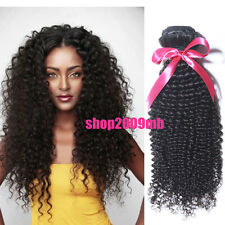 100% Malaysian Virgin Human Hair Extensions Kinky Curly Wefts 1 Bundle 50g Weave