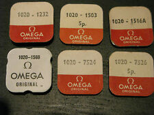 Omega Calibre 1020 NOS Parts - See List for full detail - All parts new & sealed