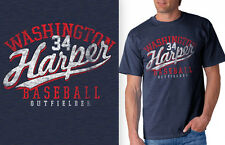 Bryce Harper, Washington Nationals Star Outfielder Retro Shirt