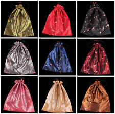 New Handmade Silk Embroidered Flower Bag Travel Bags Clothing Shoes Accessories