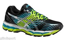 ASICS GEL NIMBUS 17 Scarpe Running Uomo Neutral ONYX/WHITE/FL.YELLOW T507N 9901