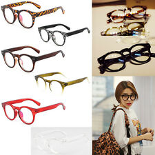 New Fashion Retro Optical Round Circle Frame Eyeglasses Clear Lens Eye Glasses