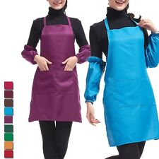 New Women's Work Cooking apron Waiter Aprons Tooling Apron Bib Apron With Pocket