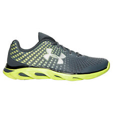 New Men's Under Armour Spine Clutch Running Training Performance Shoes Yellow UA