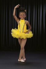 SUNNYSIDE UP Leotard & Tutu Ballet Yellow Ballerina Dance Costume Child & Adults