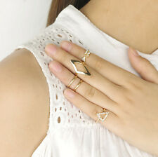 Fashion Mid Midi Above Knuckle Ring Band Gold Silver Tip Finger Stacking Gift