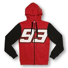 Marc Marquez 93 Moto GP Zip Hoodie Fleece Red Official 2016
