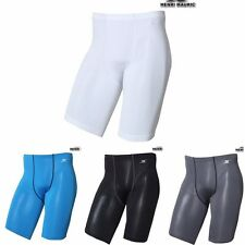 Mens Compression Shorts Running Tight Base Layer Shorts Waist Mesh Line FP