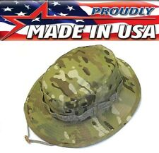 Mil Issue Tactical Multicam Camouflage Boonie Hat Rip-Stop Govt Contractor 958RS