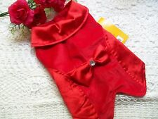 RED TUXEDO Dress Dog  M New Pet Friend Forever coat petco puppy formal
