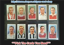 Will's Association Footballers 1939 (No Frame) ***Pick The Cards You Need***