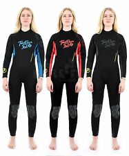 Two Bare Feet SIGNATURE FULL BODY Womens Wetsuit - Dive Surf Swim Fun New Style