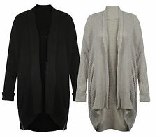 Brand New Ladies Ex Famous Brand Chunky Loose Cocoon Fit Cardigan S M L BNWOT