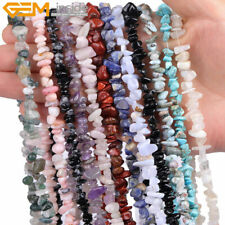 Fashion 5-8mm Freeform Chips Gemstone Beads Strand DIY Bracelet Jewelry Making