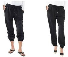 New BUFFALO Women SOFT PANTS pant cropped jog elastic cuff hem size S, L, XL