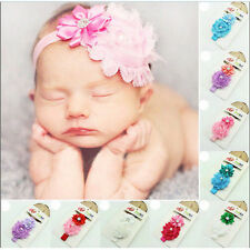 Baby Girls Chiffon Flower Hairband Soft Elastic Headband Hair Accessories Cute
