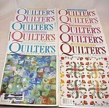 Quilter's Newsletter Magazine, Back Issues 1997