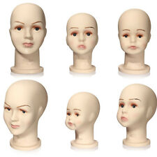 Children Kid Mannequins Manikin Head For Hats Wig Mould Model Show Stand Display