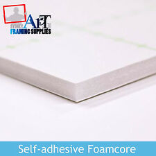 50 x A4 White  Self Adhesive Foam core