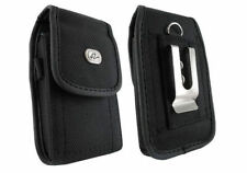 RUGGED - Premium Leather Phone Holder Side Belt Clip Holster Cover Pouch Case
