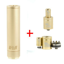 GOLD Manhattan Mech MOD + Tugboat RDA Dripper Atomizer Kit Combo Bundle