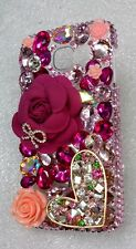 S*ACT transparent bling coco bag mirror hard smart cell phone case cover S6 G920