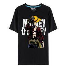 Monkey D Luffy 2nd generation One Piece Cosplay short-sleeved T-shirt Costume