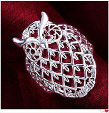 New Men's Women's 925 Sterling Silver Fashion Style Owl  Ring size 7-8