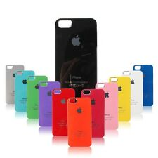 Famous Clear Edges Apple Logo iPhone 4 4S Shiny Glossy Hard Back Case Cover