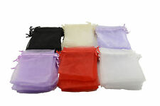 Organza Drawsting Gift Bags Jewellery Packing Pouches Wedding Party (171842)