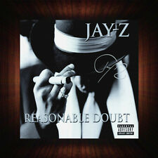 Jay-Z Reasonable Doubt - PP Signed Autographed Framed Photo/Box Canvas Print