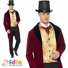 "EDWARDIAN OLD GENT VICTORIAN GOTHIC - 38""-44"" chest - mens fancy dress costume"