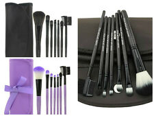 7 pieces Professional Makeup Brush Set Makeup Kit Bag Case Pouch