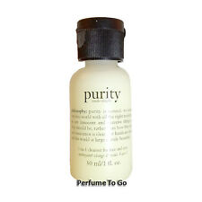 PHILOSOPHY * PURITY MADE SIMPLE * 3 in 1 Cleanser for face and eyes Travel Size