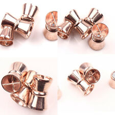 5/10 Sets Gold Plated Magnetic Clasps Charms Jewelry Makings Connectors 17x11mm