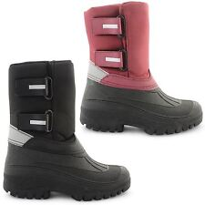 WOMENS SNOW BOOTS WATER RESISTANT MUCKER THERMAL WELLINGTON WITNER SHOES SIZE