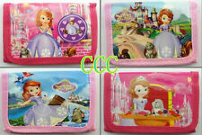 Hotot Lot Sofia the first Kids Cartoon Coin wallets purses Wholesale