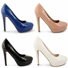 LADIES COURT SHOES WOMENS DOLCIS HIGH HEEL SMART WORK OFFICE FORMAL SHOES SIZE