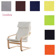 Custom Made Armchair Cover, Replacement Slipcover, Fits IKEA Poang Chair