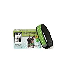 Fly Free Dog Collar - M - L - Disease Transmitting Flie Fleas 100% all natural