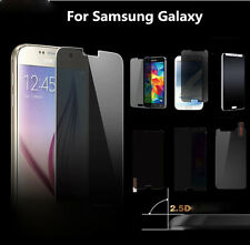 New Privacy Anti-Spy Tempered Glass Screen Protector Film For Samsung Galaxy Lot