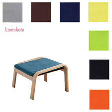 Custom Made Cover, Replacement Slipcover, Fits IKEA Poang Footstool, 30 fabrics