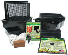 Worm Factory Worm Composter - Pick color & size + 650 coconut coir w or w/o worm