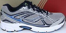 Saucony Men's Grid Cohesion 7 25181-6 Silver/Navy/Royal New in Box
