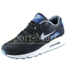 Mens Nike Air Max 90 Essential Black/Grey Running Trainers Sports Shoes Size
