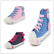 New High-Top Children Casual Athletic Sneakers Boots Girls Kids Sports Shoes Hot