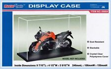 TRUMPETER Display cases & base stackable Clear Cover 1:43rd 1:72nd 1:350th 1:24