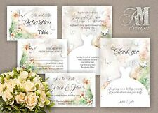 Personalised Wedding Evening Day Invitations RSVP Save The Date