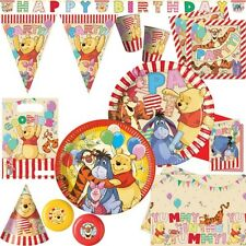 Winnie Pooh Kid's Birthday Party Decoration Disney The Set
